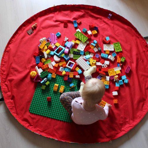 Lego-szőnyeg, játszószőnyeg