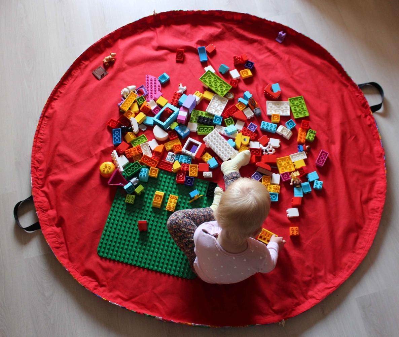 Lego szőnyeg, Lego zsák, játszószőnyeg Varrós szoba
